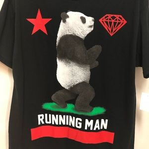 💕Host Pick💕 Running Man Panda Graphic Tee